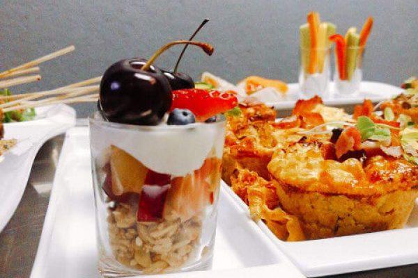 Granola breakfast at Judy's kitchen